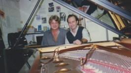 Hugo Landolfi en el Steinway basement